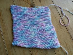 初めて知った編み方 -