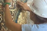 「ベツレヘム聖誕教会モザイク壁画の修復」について、続き - カマクラ ときどき イタリア