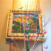 春の吊るし飾りと春節の誓い - poem  art. ***ココロの景色***