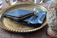 イタリアンレザー・アリゾナ・L型財布と2本差しペンケース・時を刻む革小物 - 時を刻む革小物 Many CHOICE~ 使い手と共に生きるタンニン鞣しの革