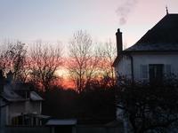 立春の朝焼け - フランス Bons vivants des marais