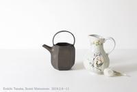 田中啓一(陶)・松本郁美(陶磁)展~春風解氷はるかぜこおりとく - うつわshizenブログ