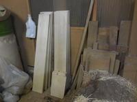 デスクの木取り - 手作り家具工房の記録