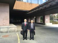 (一社)愛知県鍼灸師会として長谷川会長と私で、本会顧問で愛知県議会議員の塚本久先生の表敬訪問をいたしました。 - 東洋医学総合はりきゅう治療院 一鍼 ~健やかに晴れやかに~