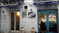 西洋風「お刺身」が人気の小さなレストラン - シチリア島の旅ノート