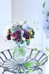 幸せのとき - Le vase*  diary 横浜元町の花教室