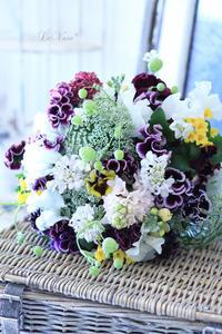 土曜日の過ごし方 - Le vase*  diary 横浜元町の花教室