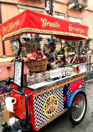 シチリア/37 カラフルな街タオルミーナ♪ - FK's Blog