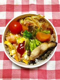 海老玉子★(^^♪・・・・・息子弁当 - 日だまりカフェ
