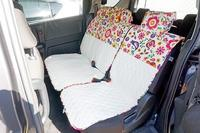 【ホンダフリード】にシートカバーを装着しました - かわいいカー雑貨のお店ココトリコ★さくらのブログ