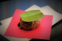 季節の和菓子『椿餅』 - まほろば日記