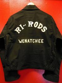 The Groovin High Vintage Style Car Club RI-RODS カークラブ、ドリズラージャケット - ROCK-A-HULA Vintage Clothing Blog