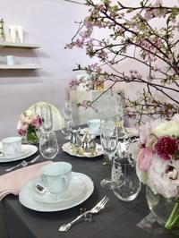 「テーブルコーディネート展」に今年も伺ってきました🍽✨ まずは「ノリタケ」 - Bouquets_ryoko