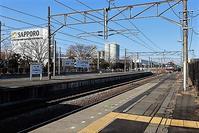 藤田八束の鉄道写真@東北本線サッポロビール工場前にて、貨物列車と石油タンクは絵になるね - 藤田八束の日記