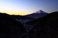 31年2月の富士(2)雪の富士見橋からの富士 - 富士への散歩道 ~撮影記~