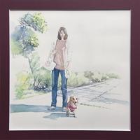 「 Sunshine sunshine 」 - 犬の絵、描きます < Eyes of a Dog >