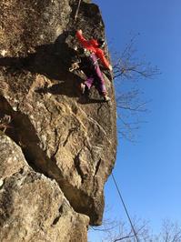 湯河原幕岩~城山 (2月2日、3日) - ちゃおべん丸の徒然登攀日記