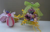 「リボンヴィオラのミニアレンジ」 &「春のトピアリー」レッスンのご案内 - Tea Time