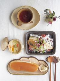 クラムチャウダーの朝ごはん - 陶器通販・益子焼 雑貨手作り陶器のサイトショップ 木のねのブログ