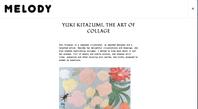 """information   """"MELODY"""" - yuki kitazumi  blog"""
