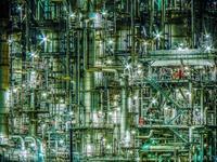 四日市工場夜景(2009年) - シセンのカナタ