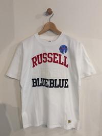 BLUE BLUE / RUSSELL BLUEBLUE ATHLETIC TACKLE TEE - Safari ブログ