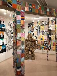 高槻市立第三中学校 美術デザイン部 作品展 - 隔たりのないアート(美術の理解)