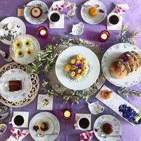 手描き皿 de 世界にひとつのおもてなし - nico☆nicoな暮らし~絵付けと花とおやつ