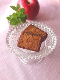 りんごとキャラメルのパウンドケーキ - Baking Daily@TM5