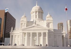 フィンランド大聖堂INさっぽろ雪まつり -