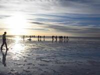 ペルー&ウユニ塩湖 旅行 26(夕日のウユニ塩湖) - 自分流 Happy Life