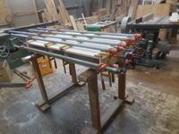 デスクの組み立て。 - 手作り家具工房の記録