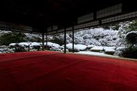 雪の京都詩仙堂の額縁雪景色 - 花景色-K.W.C. PhotoBlog