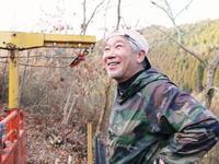 原木しいたけコマ打ちに向けての玉切り作業(2019) - FLCパートナーズストア