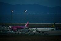 関西国際空港での撮影 その7 ホテル日航関西空港からの撮影 - 南の島の飛行機日記