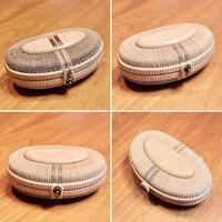 7inch Clutch Bag - handvaerker ~365 days of Nantucket Basket~