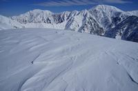 雪稜を眺めて - 人生山あり