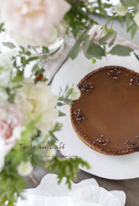 コーヒーのタルト - フランス菓子教室 Paysage Calme
