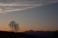パノラマの丘①美しい時間 - 光画日記