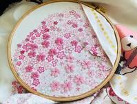 今日はサイズの大きい桜の花 - y-hygge
