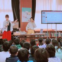 6年生へのキャリア教育…ハンドメイド作家として参加したよ! - ・:*:・Happy jam party・:*:・