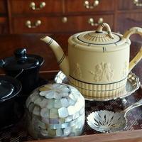 ウェッジウッドのジャスパー・ティーポット♪ - アンティークな小物たち ~My Precious Antiques~
