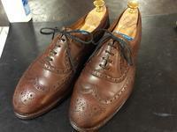 控え目そして主張しすぎないツヤ - 池袋西武5F靴磨き・シューリペア工房