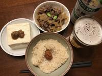 休日の 朝ごはん&昼ごはん - よく飲むオバチャン☆本日のメニュー