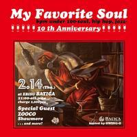 My Favorite Soul 10周年!! - Jazz Maffia BLOG