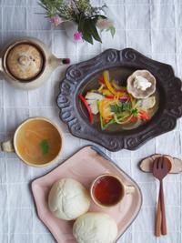 ハイジの白いパンの朝ごはん - 陶器通販・益子焼 雑貨手作り陶器のサイトショップ 木のねのブログ