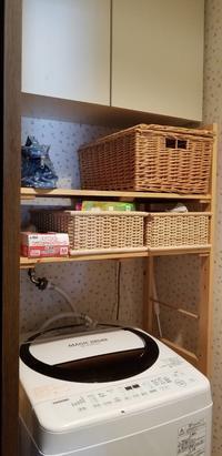 洗面所の棚をDIYで使いやすくおしゃれに - ゆうゆう素敵な暮らしの手帖