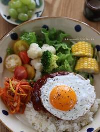 Loco Moco (●ゝU・●)b - **  mana's Kitchen **
