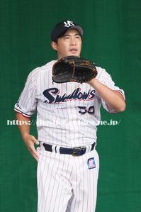 2/8ヤクルトキャンプ、五十嵐亮太投手ブルペン (動画3) - Out of focus ~Baseballフォトブログ~ 終了