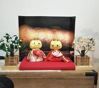 春よ来い、手作り雛人形展(その4)えちゴン雛 - 海辺のキッチン倶楽部もく